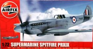 Airfix A02017 1:72 Scale Supermarine Spitfire PRXIX Military Aircraft Classic Kit Series 2