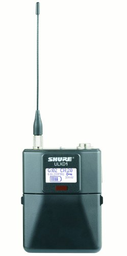 - Shure ULXD1 Wireless Bodypack Transmitter - H50 Band