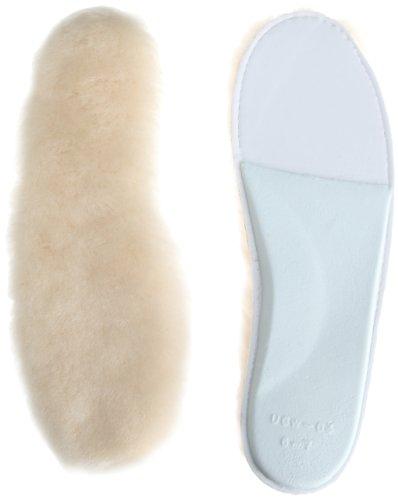 UGG Accessories Women's Women's Sheepskin Insole Shoe Accessory, White, 7 Medium