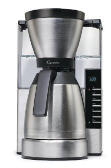 Capresso 498.05 MT900 Rapid Brew Coffee Maker, Stainless Ste