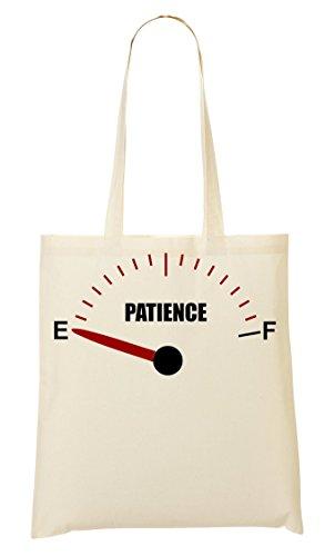 Graphic De De Compra Bolsa La Bolso Empty Patience Funny Gauge Mano CP F1pIYWn4