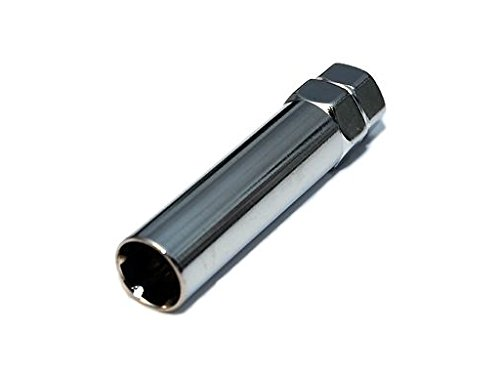 12x1.25 Replacement Spline Drive Lug NUT /& 1 Tool Wheel Lock Key Black 12x1.25MM 4 AVN Motorsports