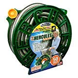Hercules Lightweight And Portable 50 Feet Garden Hose Resistant To Tangles And Kinks Bonus Hose Reel