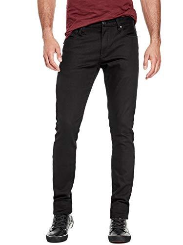 - GUESS Factory Men's Delmar Slim Straight Jeans