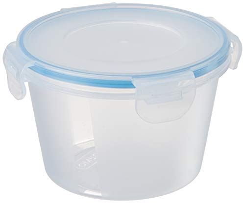 Amazon Brand - Solimo Airtight Plastic Storage Containers, Set of 12, 750ml, Blue