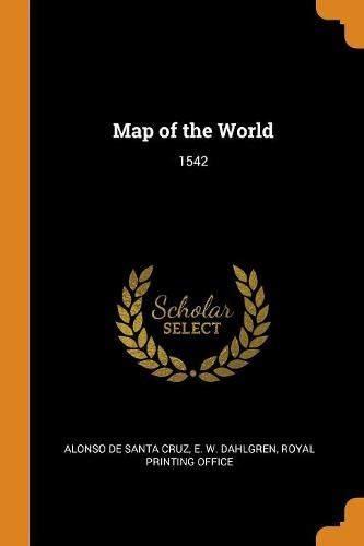 Map of the World: 1542