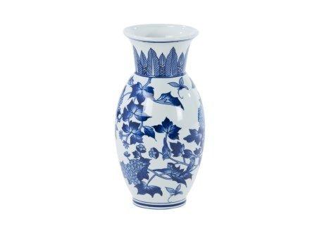 Dalian Blue And White Chinese Vase Amazon Kitchen Home