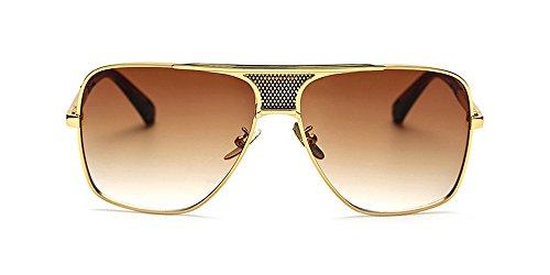 Style Branché KINDOYO Hommes en Métal de complète de en Protection Nouveaux 06 Rétro Plein cadre Soleil UV400 cadre Lunettes air de de des rr1dCqw