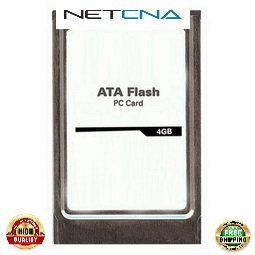 MEM-FD4G Cisco 4GB Flash Disk PCMCIA 12000 Series Routers 3rd Party 100% Compatible memory by NETCNA USA (Series Pcmcia Flash Disk)