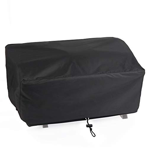 SHINESTAR SH205 Grill Cover for Smoker Hollow 205, 20 Inch Grill Cover for Smoker Hollow Stainless Steel Table Top Propane Gas Grill with Draw String