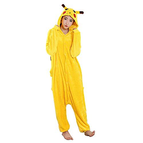Adult Cartoon One Piece Sleepsuit Lounge Sleepwear Animal