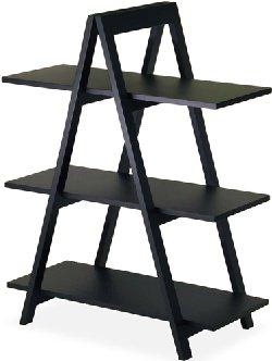 Cheap TDM A-Frame Shelf in Black Finish