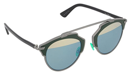 Christian Dior So Real Gold Mirrored Sunglasses With Gold Frame