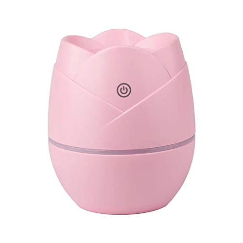 DEEPLOVE-Mini humidifier with USB humidifier for home office baby bedroom portable humidifier LED lights for travel car humidifier with automatic shutdown