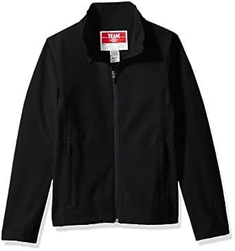 TM365 Boys' Big TM36-TT80Y-Leader Soft Shell Jacket, Black, Small