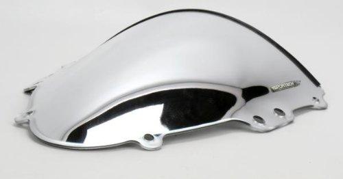Sportech V-Flow Windscreen Chrome for Suzuki GSXR 600 750 06-07 (V-flow Sportech Windscreen)