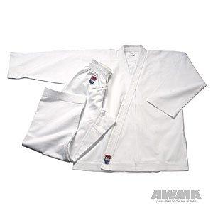 Pro Force 14oz Heavy Weight Diamond Canvas Karate Gi - White - Size 2-1/2 Heavy Canvas Jacket