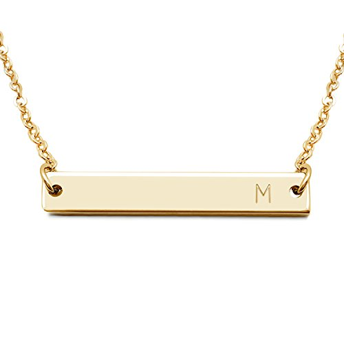 Initial Necklace Mothers Bridesmaid Sorority product image