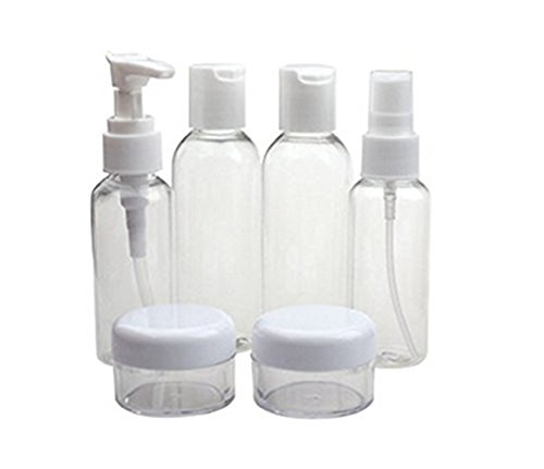 Set-of-6-Empty-Multiple-Clear-Cosmetics-Plastic-Packing-Bottle-Suit-Travel-Portable-Small-Liquid-Container-Makeup-Toiletries