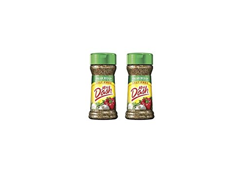 Mrs. Dash Italian Medley All Natural Salt Free Seasoning Blend (224493) 2 oz, Pack of 2