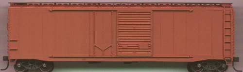(Accurail 5300 HO Undecorated 50' Combination-Door Riveted-Side Boxcar Kit)