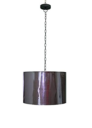Buy pendant light in a fabric drum shape shade with metal assembly pendant light in a fabric drum shape shade with metal assembly aloadofball Choice Image