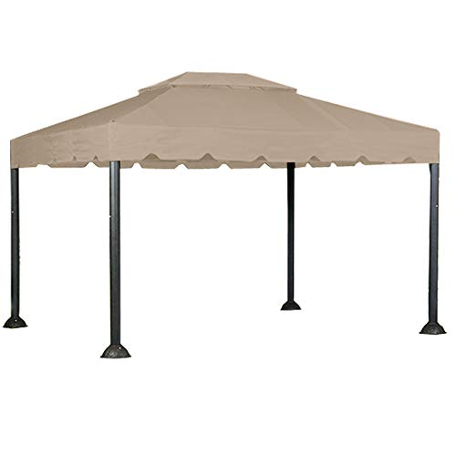 10 X 12 Garden House Gazebo Replacement Canopy - RipLock 350
