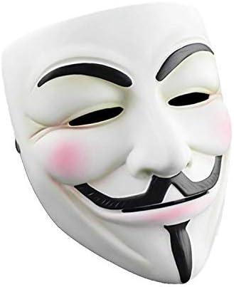V For Vendetta Mask Adult Guy Anonymous Masked Dancer For Halloween Costume