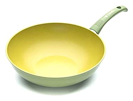 Illa sartén Wok Exclusivo ollia-tech al aceite de oliva 28 cm olivilla
