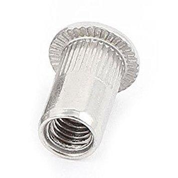 Rivet Nut - TOOGOO(R)20 Pcs 304 Stainless Steel Rivet Nut Rivnut Insert Nutsert M5x13mm by TOOGOO(R) (Image #1)