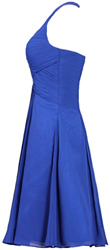 Prom Halter ANTS Women's Chiffon Evening Dress Cocktail Dress Hunter Green Short EqZEx5w