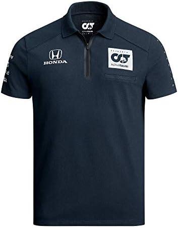 [ ALPHA TAURI ] 2020 スクーデリア アルファタウリ ホンダ F1 Racing Team オフィシャル レプリカポロシャツ