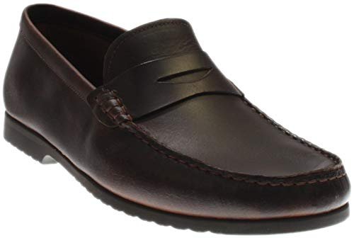RW by Robert Wayne  Men's Archer Penny Loafer, Brown, 13 UK/13 D US