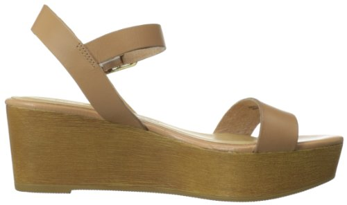 Womens Grand Wedge Sandalo Cinese Sandalo Nocciola