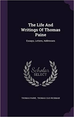 Business Ethics Essays The Life And Writings Of Thomas Paine Essays Letters Addresses Thomas  Paine Thomas Clio Rickman  Amazoncom Books Sample Essay Topics For High School also Good Health Essay The Life And Writings Of Thomas Paine Essays Letters Addresses  How To Make A Thesis Statement For An Essay