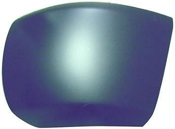 355-15102-12 GM1005146 15838398 CarPartsDepot Passenger Side Front Bumper End Side Cover Matte Black Without Fog Lamp Hole RH