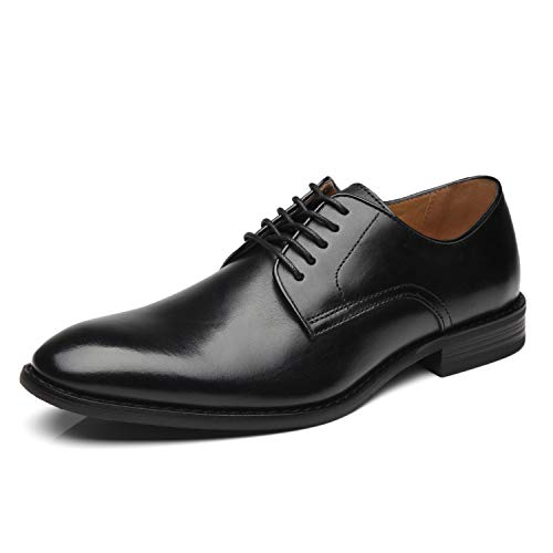 - La Milano Men Dress Shoes Lace-up Leather Oxford Classic Modern Formal Business Comfortable Dress Shoes for Men