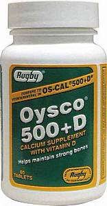 Oysco 500+D Tablets, 500mg-200u, 60ct Review