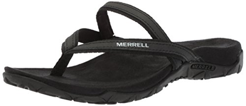 Merrell Womens Terran Ari Post Sandalo Sportivo Nero