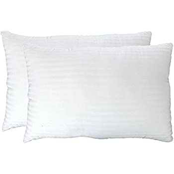 Gel Fiber Pillows - Ultra Plush Down Alternative Pillows Super Soft, Cloud-like Hypoallergenic .9 Micro Denier Filled Pillows Crafted in The USA(Queen 2-Pack, Extra Soft) -100% Satisfaction Guarantee