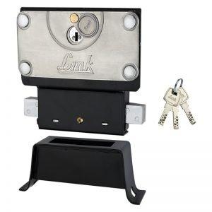 Link Steel Hi-Tech Center Shutter Lock (Silver)
