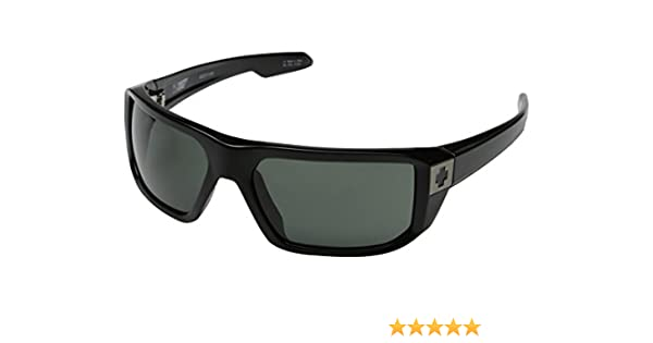 Spy Mccoy Sunglasses Optic Steady Series Designer Eyewear - Black/Grey / One Size Fits All