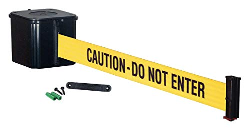 Retracta-Belt Wall Barrier, 15ft -Caution DO NOT Enter