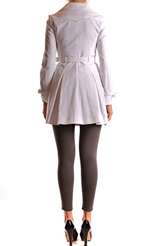 Pinko Mujer MCBI242032O Blanco Algodon Trench Coat