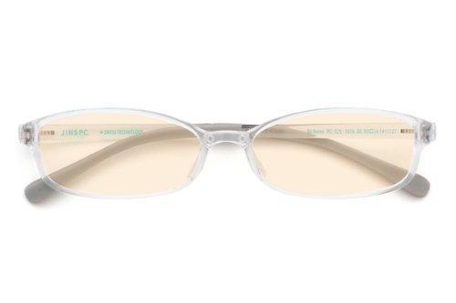 815b1fa204c JINS PC Glasses Computer Eyewear Clear (Light Brown Lenses