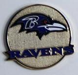 Baltimore Ravens NFL Round Metal Magnet