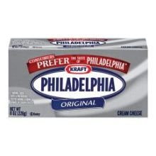 Kraft Philadelphia Original Cream Cheese - Rigid Box, 8 Ounce -- 36 per case. by Philadelphia
