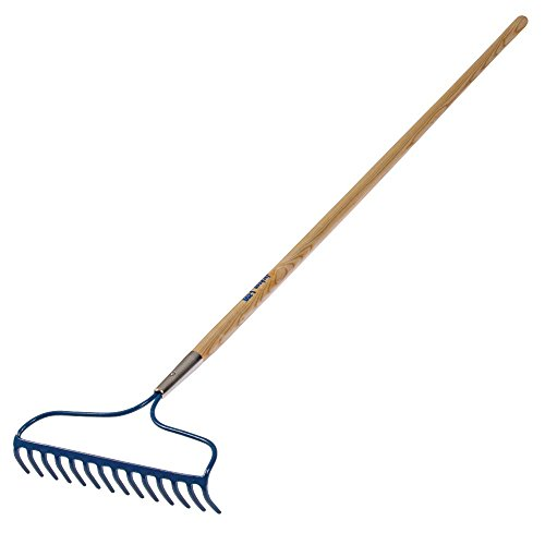 Jackson Bow Rake, 14 Inches Wide, 60 Inch Wood Handle