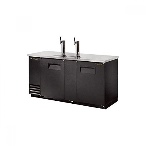 True TDD-3-BLK Direct Draws, 33 Degree F to 38 Degree F (Direct Keg Dispenser Draw 3)