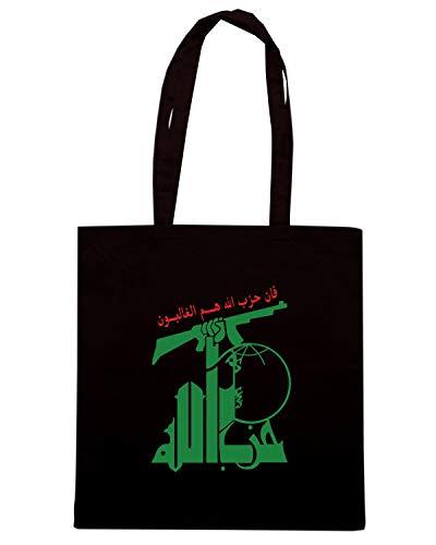 Shirt Shopper PRINTBOX FLAG Speed ALGERIA Borsa Nera TM0227 UazROn